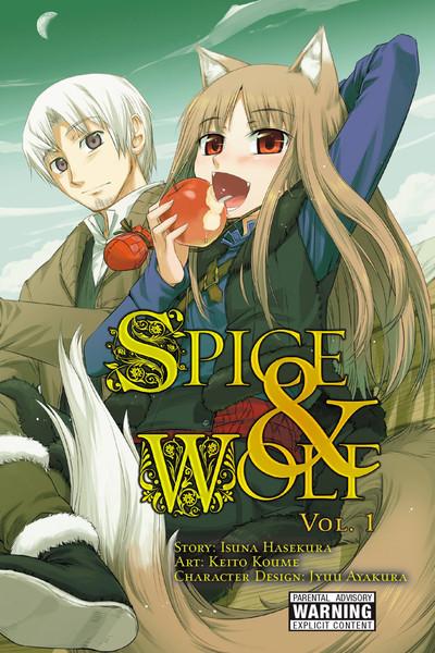 Spice and Wolf Manga Volume 1