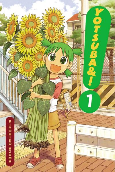 Yotsuba Manga Volume 1