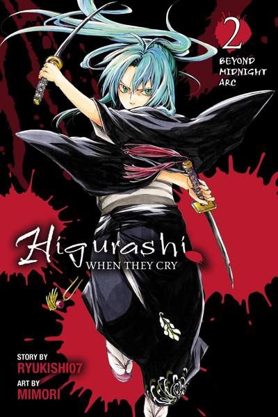 Higurashi When They Cry Manga Volume 10