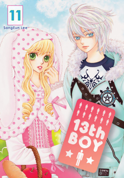 13th Boy Manga Volume 11