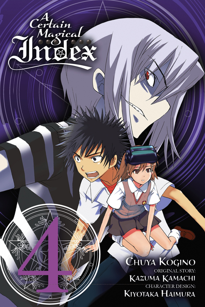 A Certain Magical Index Manga 04 9780316345972