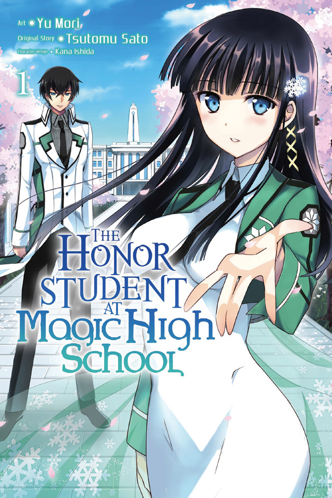 The Honor Student at Magic High School Manga Volume 1 9780316351416