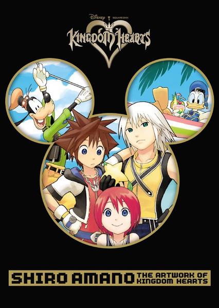 Shiro Amano The Artwork of Kingdom Hearts (Color)