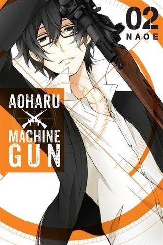 Aoharu x Machinegun Manga Volume 2 9780316434249