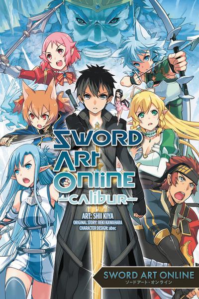 Sword Art Online Calibur Manga