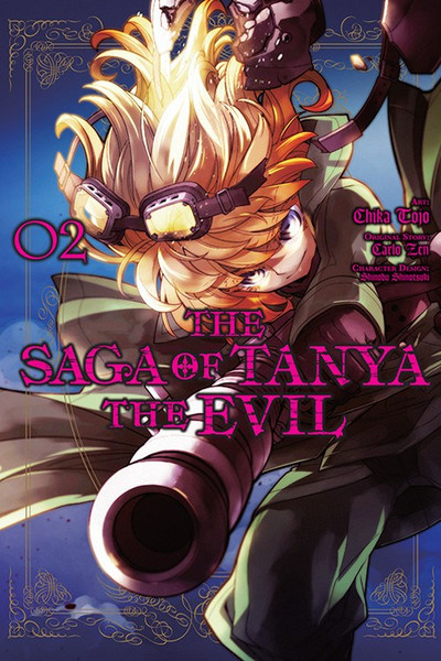 The Saga of Tanya the Evil Manga Volume 2