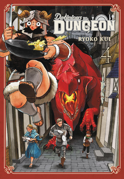 Delicious in Dungeon Manga Volume 4