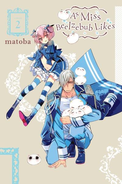 As Miss Beelzebub Likes Manga Volume 2