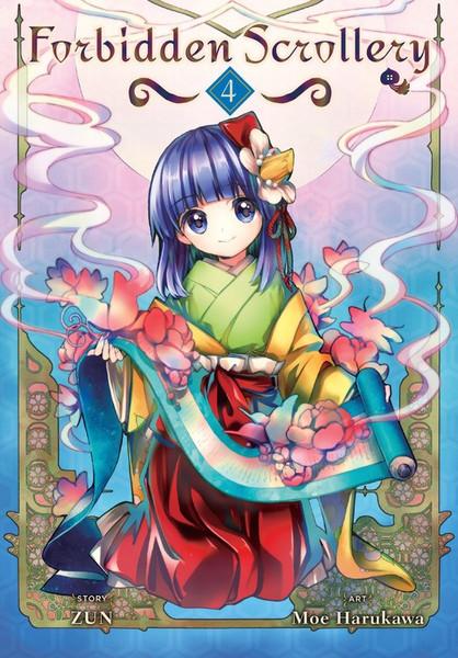 Forbidden Scrollery Manga Volume 4