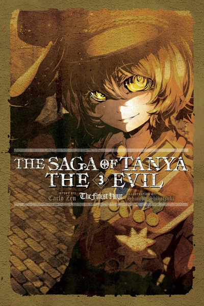The Saga of Tanya the Evil Novel Volume 3