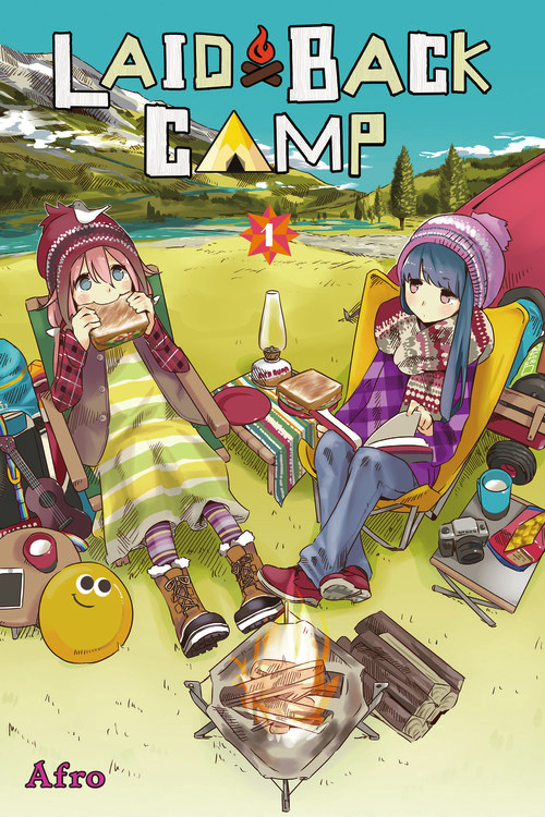 Laid-Back Camp Manga Volume 1 Review