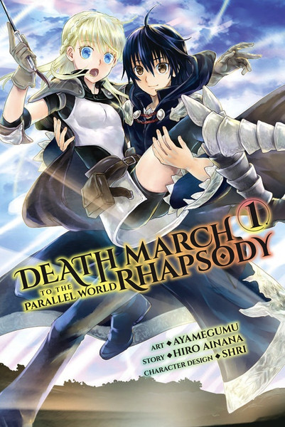 Death March to the Parallel World Rhapsody Manga Volume 1