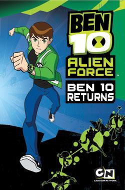 Ben 10 Alien Force: Ben 10 Returns Ani-Manga 9780345514387