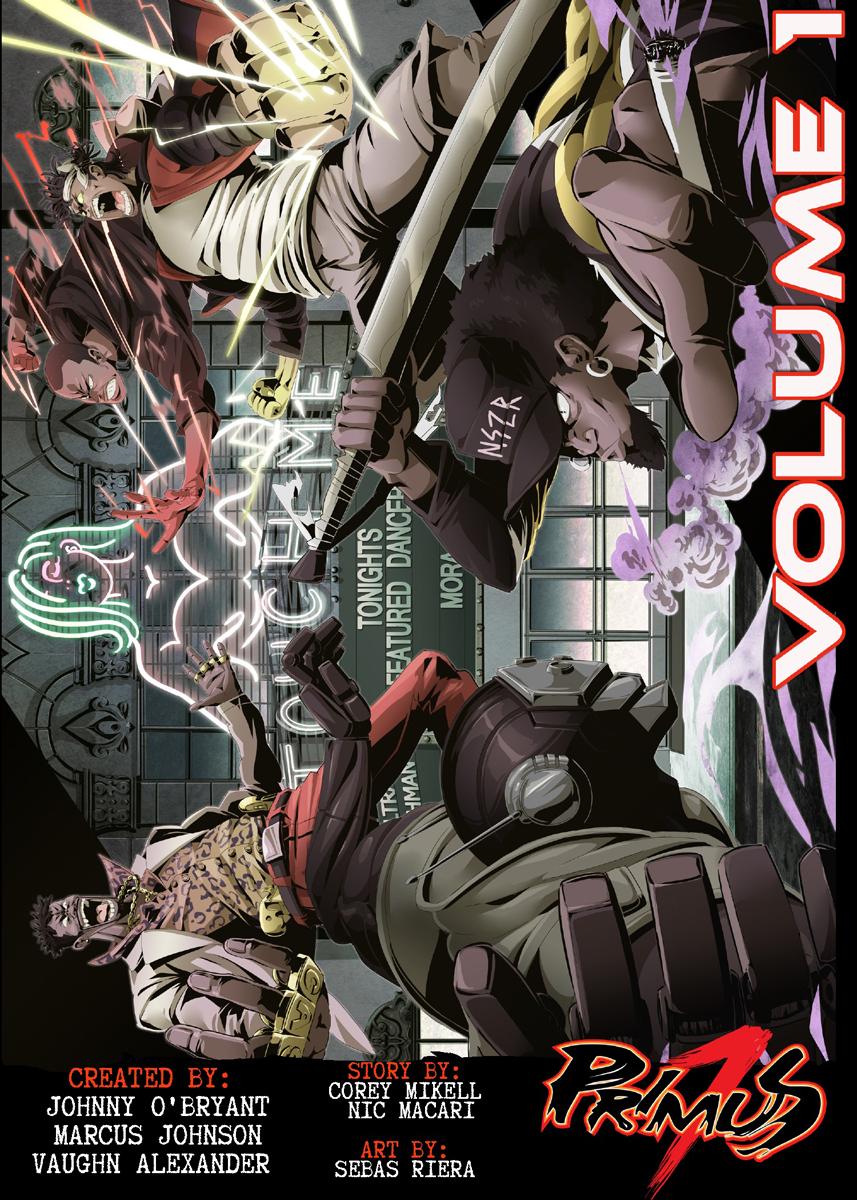 Primus 7 Manga Volume 1