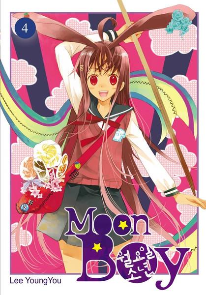 Moon Boy Manga Volume 4