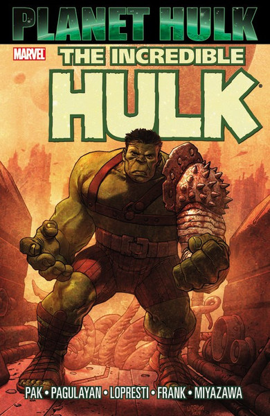 Planet Hulk Graphic Novel