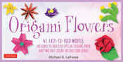 Origami Flowers Kit 41 Easy to Fold Models