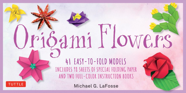Origami Flowers Kit 41 Easy to Fold Models