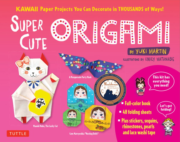 Super Cute Origami Kit Kawaii Paper Projects You Can Decorate in Thousands of Ways!