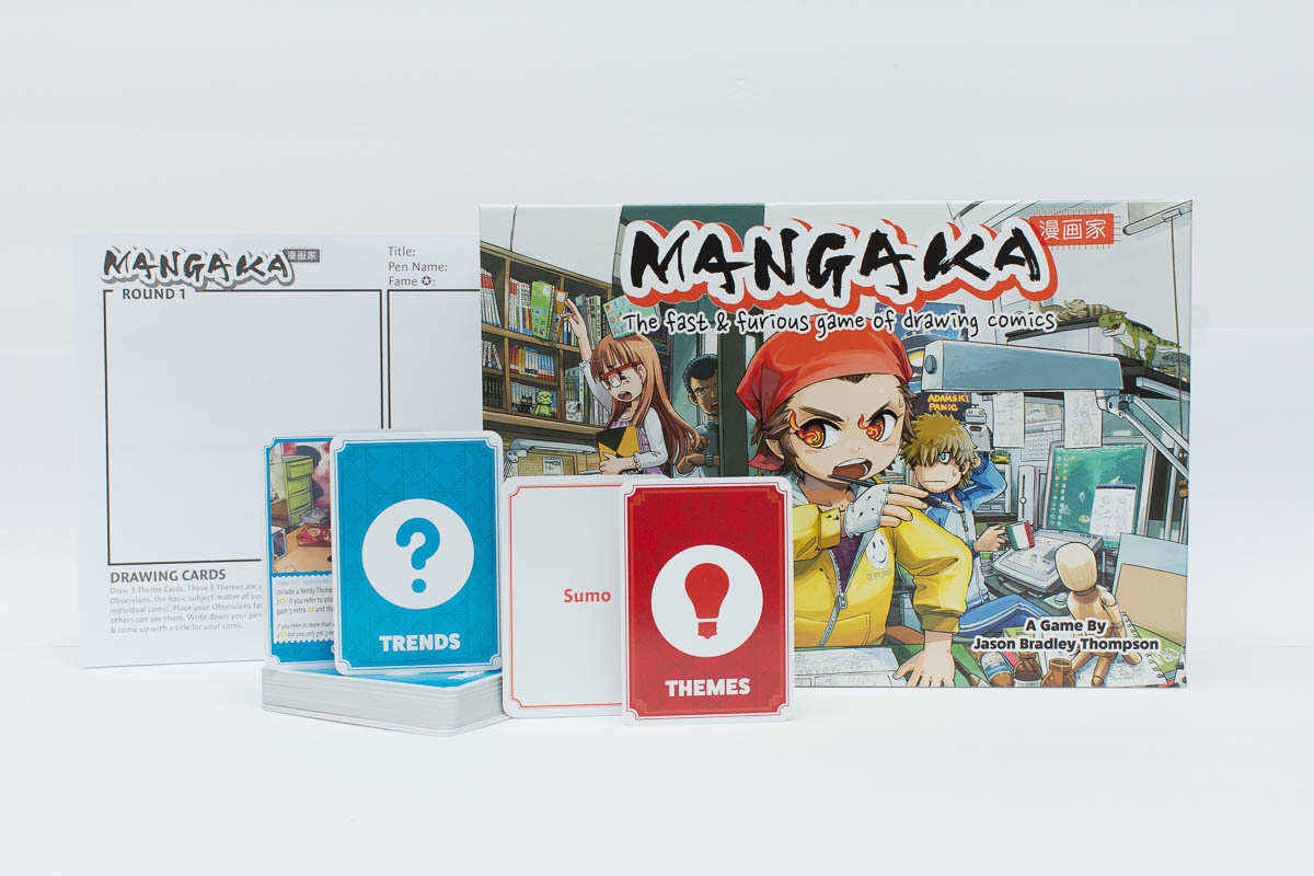 Mangaka Card Game
