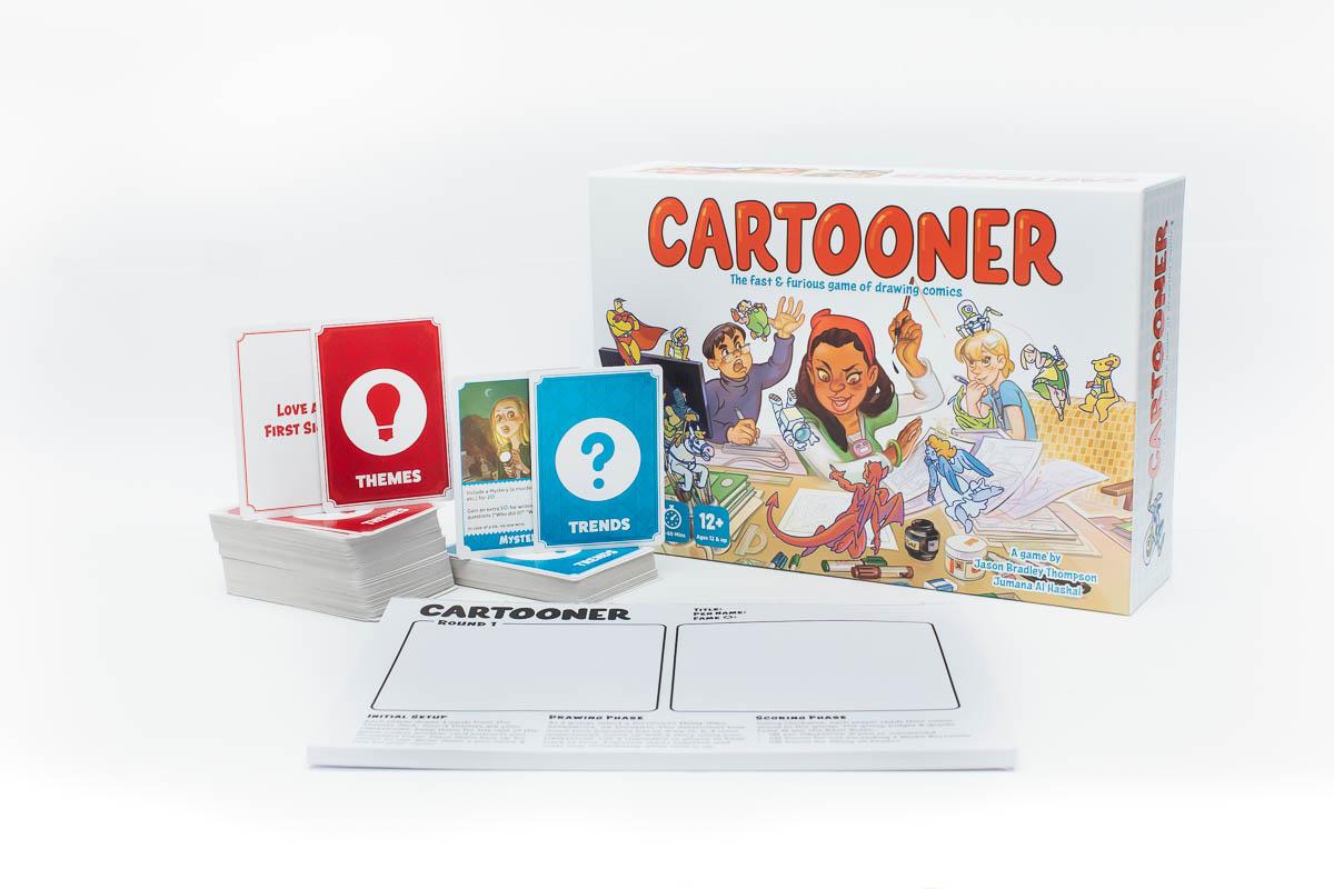 Cartooner Game