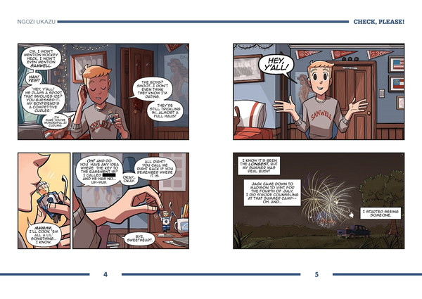 Check, Please! Volume 2 Sticks & Scones Graphic Novel
