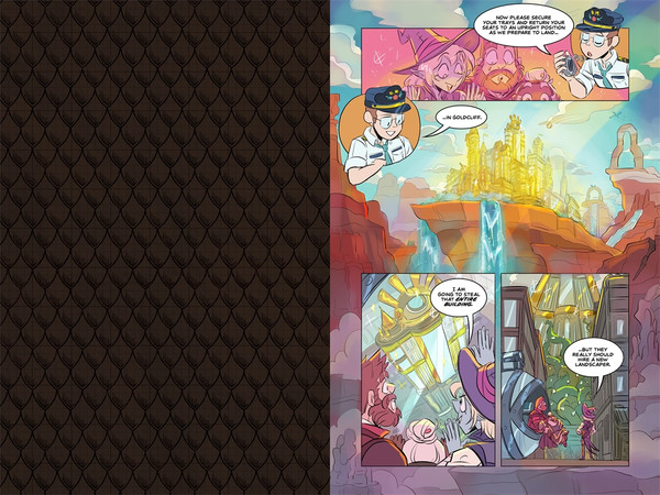 The Adventure Zone Volume 3 Petals to the Metal Graphic Novel