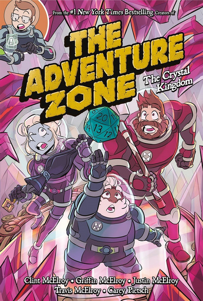 The Adventure Zone Volume 4 The Crystal Kingdom Graphic Novel