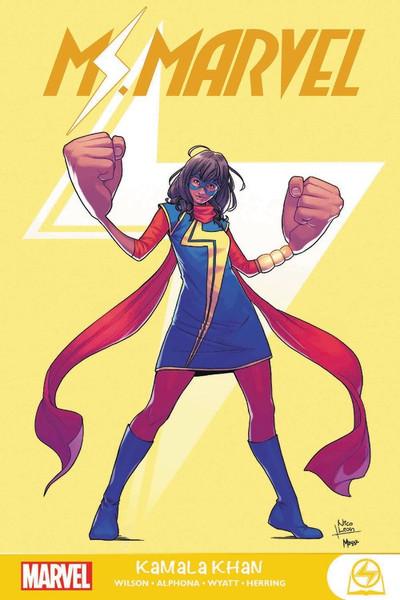 Ms. Marvel Volume 1 Kamala Khan Graphic Novel
