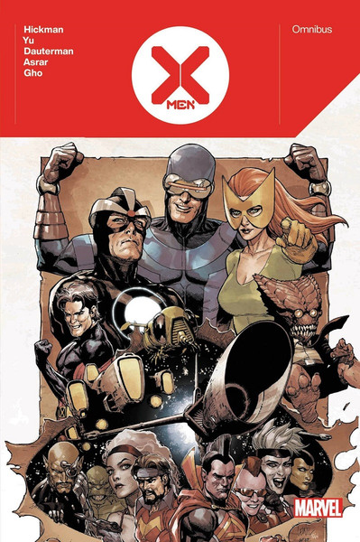 X-Men by Jonathan Hickman Omnibus Graphic Novel (Hardcover)