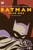 Batman Year One Deluxe Edition Graphic Novel (Hardcover)