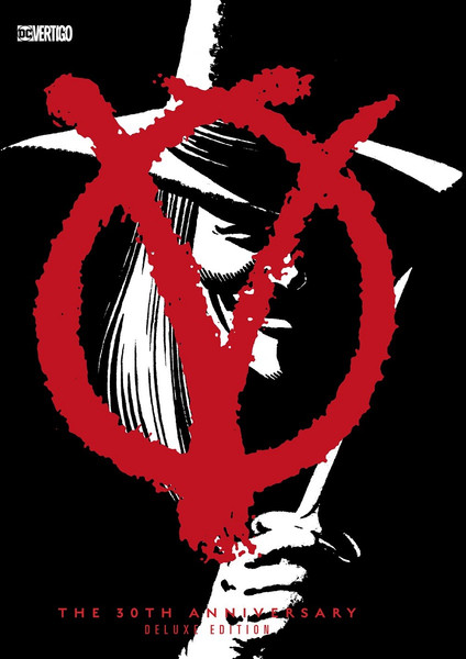 V for Vendetta 30th Anniversary Deluxe Edition Graphic Novel (Hardcover)