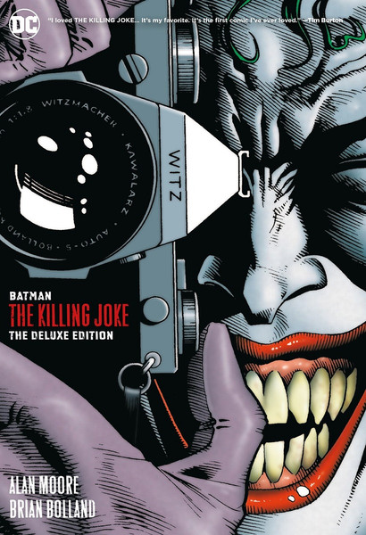 Batman The Killing Joke Deluxe Edition Graphic Novel (Hardcover)