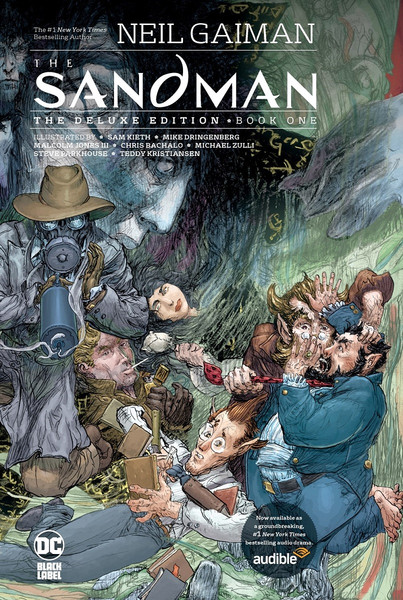 The Sandman Deluxe Edition Book One Graphic Novel (Hardcover)