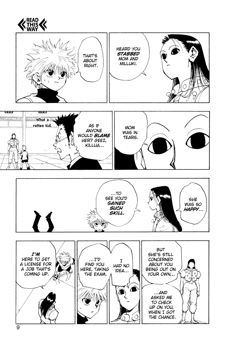 Hunter X Hunter Manga Volume 5