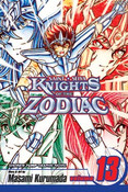 Knights of the Zodiac Manga Volume 13