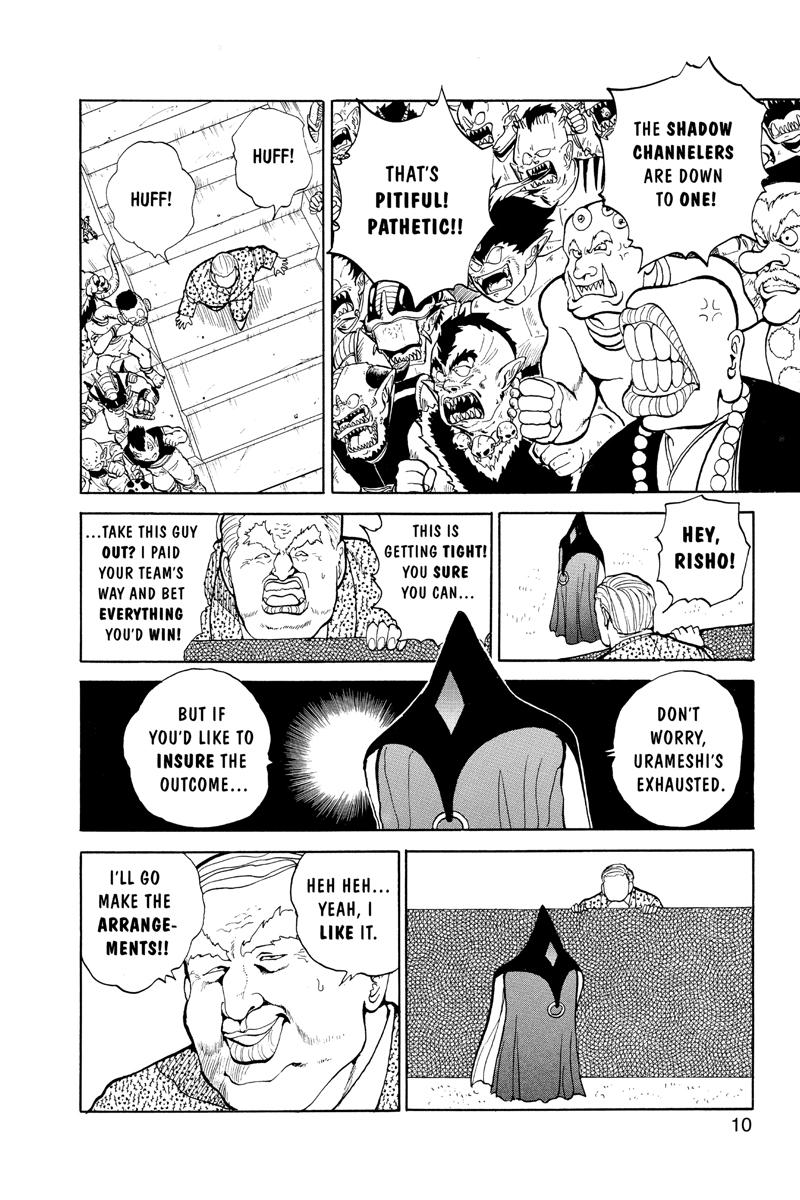 Yu Yu Hakusho Manga Volume 9