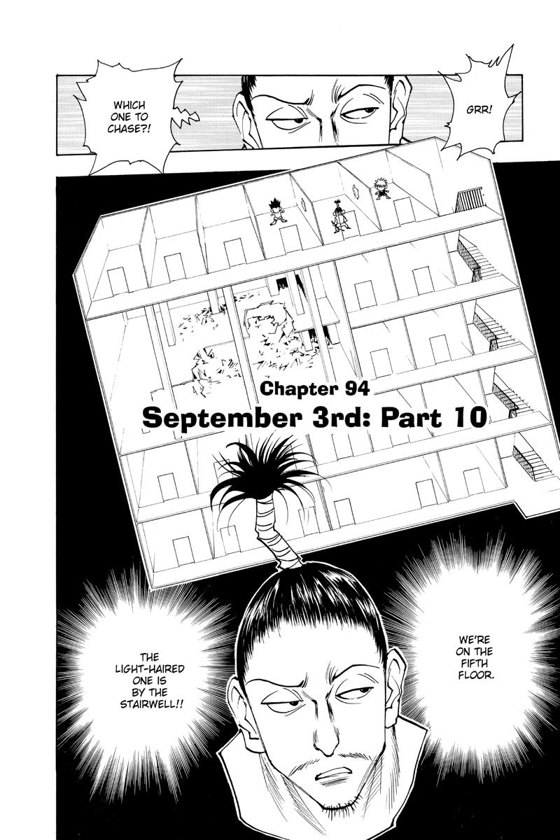 Hunter X Hunter Manga Volume 11
