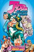 JoJo's Bizarre Adventure Manga Volume 4