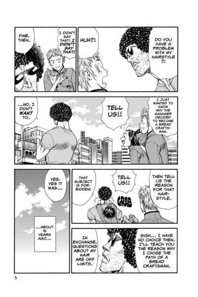 Yakitate!! Japan Manga Volume 4