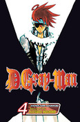 D.Gray-man Manga Volume 4