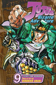 JoJo's Bizarre Adventure Manga Volume 9