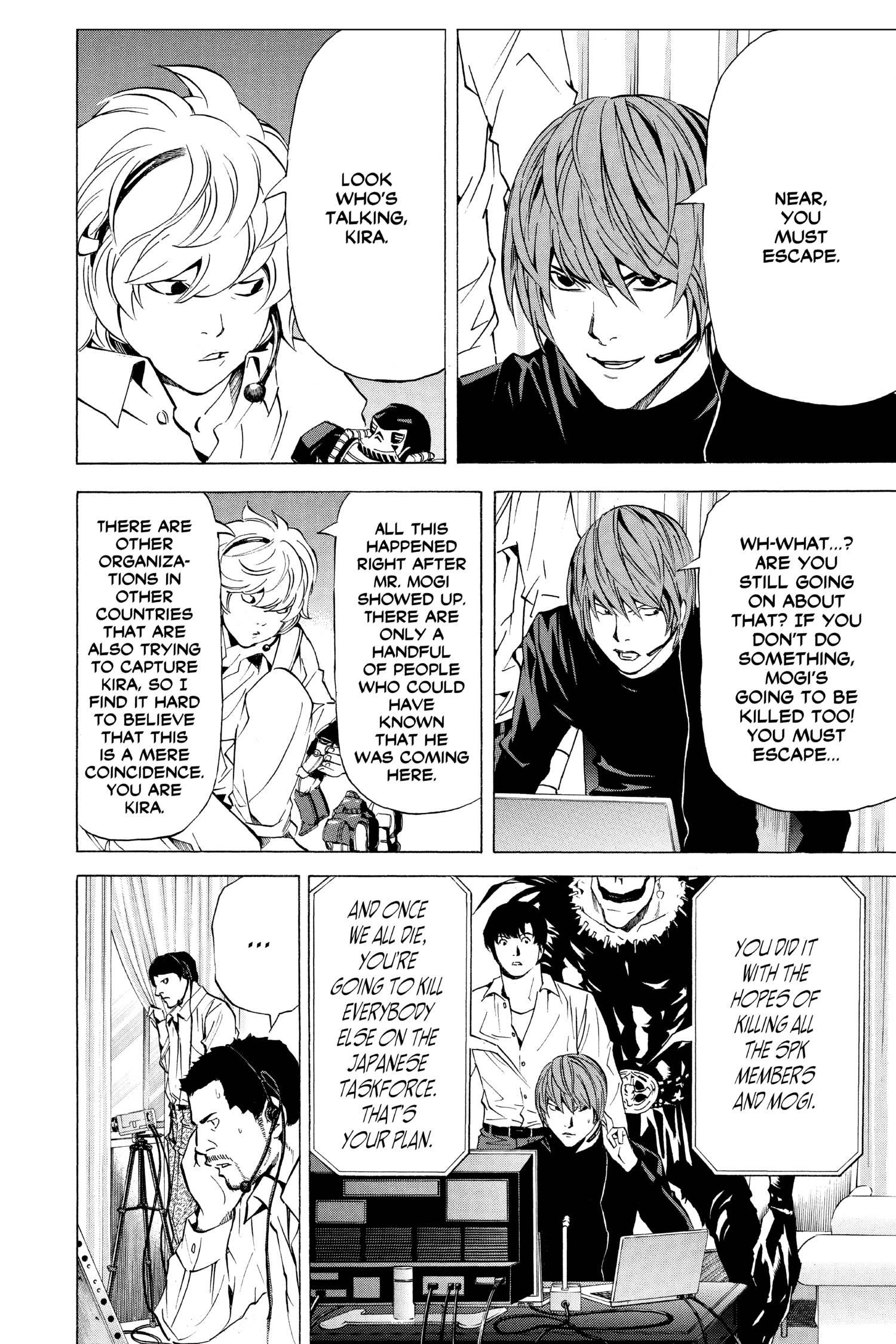 Death Note Manga Volume 10