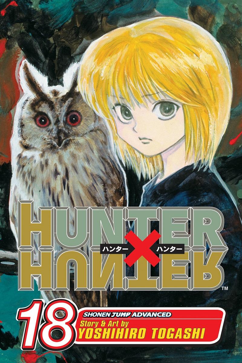 Hunter X Hunter Manga Volume 18