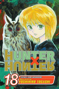 Hunter X Hunter Manga Volume 18