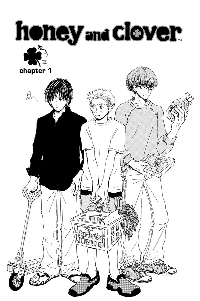 Honey and Clover Manga Volume 1
