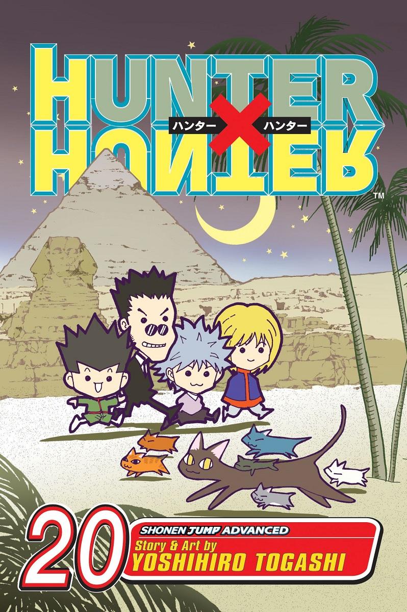 Hunter X Hunter Manga Volume 20
