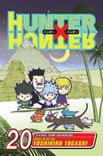 Hunter X Hunter Manga Volume 20