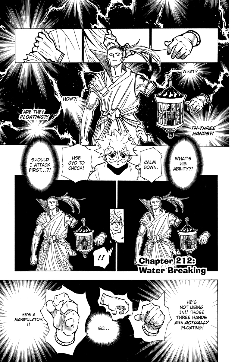 Hunter X Hunter Manga Volume 21