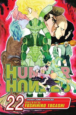 Hunter X Hunter Manga Volume 22